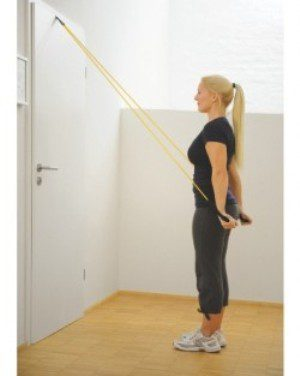 Door anchor for use with resistance bands