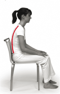 poor posture sitting causing back pain