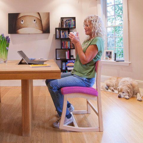 RockBack supports passive sitting posture